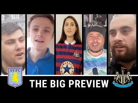 ASTON VILLA VS NEWCASTLE | THE BIG PREVIEW SHOW!