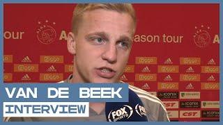 INTERVIEW | Donny van de Beek gaat niet naar Manchester United