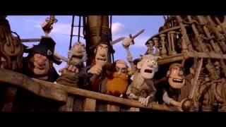 تریلر انیمیشن دزدان دریایی نخاله