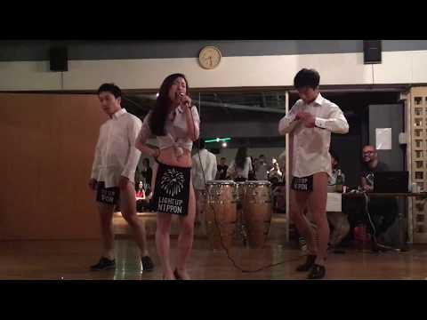 沼津ダンスイベントに登壇したふんどしマンたちの新ネタ