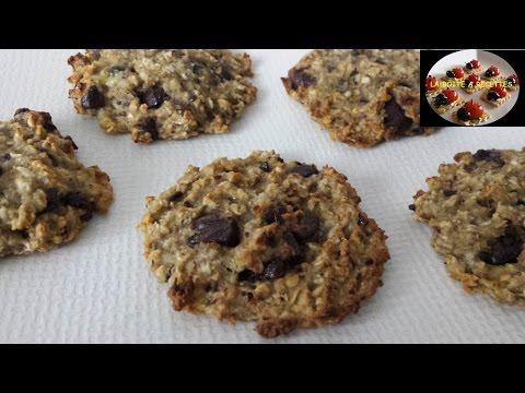 cookies-vegan-(bananes,-chocolat-noir-et-flocons-d'avoine)---recettes-express---la-boite-a-recettes