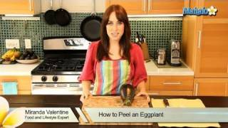 How to Peel an Eggplant