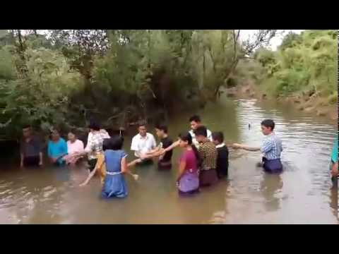Thukha Myanmar Mission: Baptism at  2017 Christmas in Rakhine