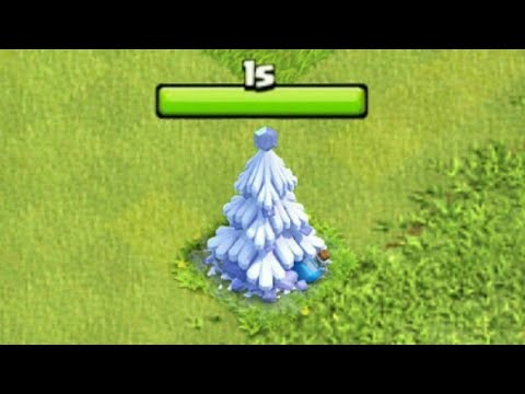 WHAT HAPPENS IF U REMOVE THE X MAS TREE IN DECEMBER UPDATE 2017 IN CLASH OF CLANS! MAGICAL ITEMS!