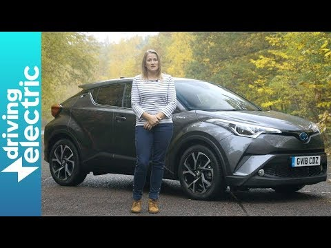 Toyota CH-R Hybrid SUV review - DrivingElectric