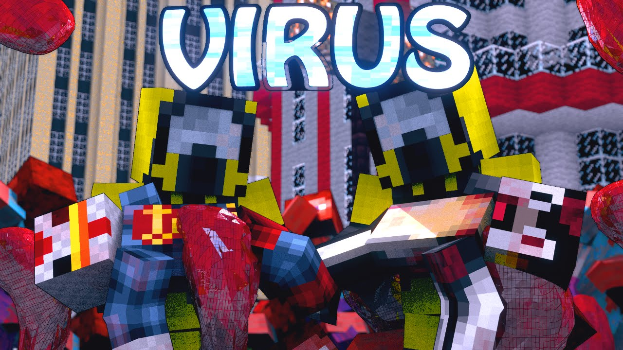 мод вирус видно для майнкрафт #11