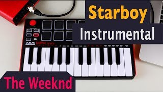 The Weeknd - Starboy ft. Daft Punk - Instrumental