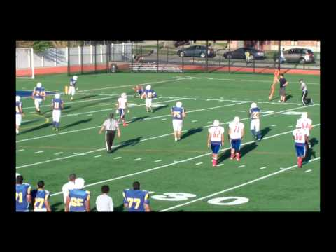 Mahmoud Awada | #5 Cornerback | 2014 High School Football Highlights | Star International Academy HS
