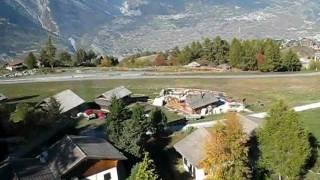 Gondola-téléphérique Nendaz Tracouet Valais Switzerland 22 october 2011