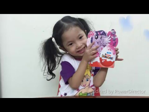 Trò chơi bóc Trứng Socola Kinder surprise eggs My little Pony Equestria girls