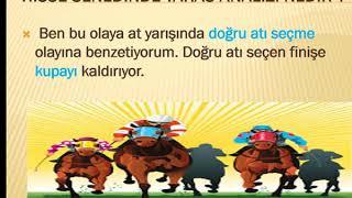 HİSSE SENEDİ TAKAS ANALİZİ GRUP OLUŞTURMA