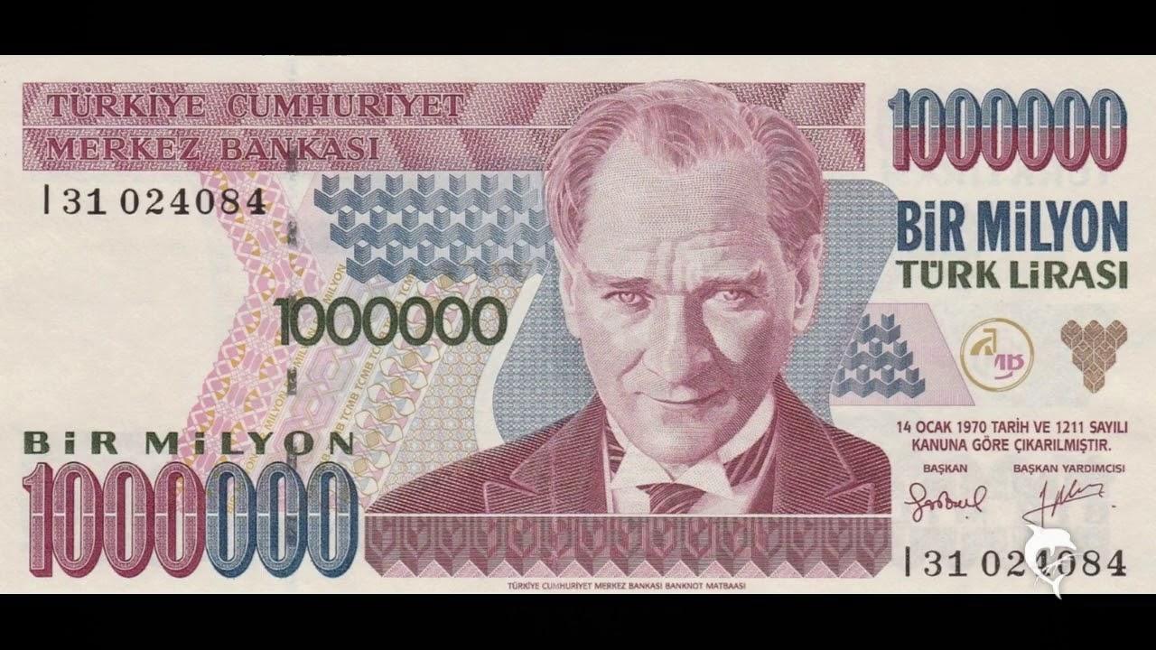 1 Million Turkish Dollars