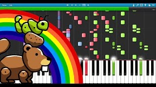 Halvsten - The Potato, the Caterpillar and the Beaver [Original Composition]