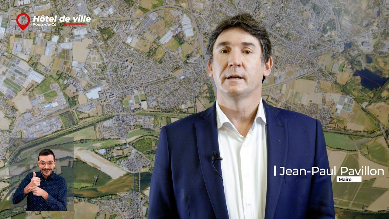 Vœux de la Mairie des Ponts-de-Cé 2021.