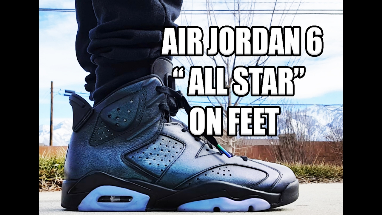 sale retailer 085f8 76a96 Air Jordan 6 All Star Early Release Unboxing with On Feet Review