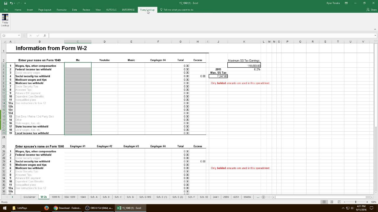 Lets play microsoft excel 2015 edition w1040 mods blind lets play microsoft excel 2015 edition w1040 mods blind falaconquin