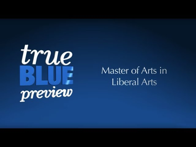 MTSU True Blue Preview: Master of Arts in Liberal Arts