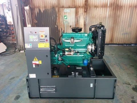 Дизельный генератор 16 кВт  - 6 суток работы!