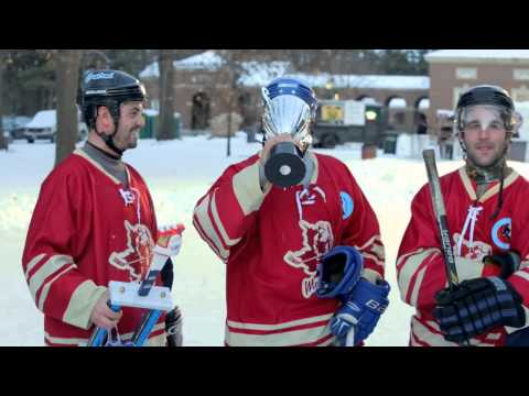 Saratoga Frozen Springs Classic Pond Hockey Tournament