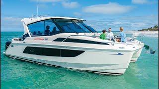 Tour the All-New MarineMax Vacations 362 Power Catamaran