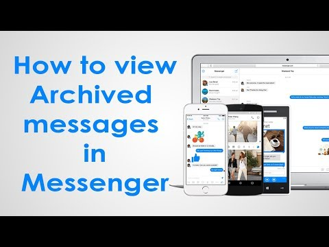 How To View Archived Messages on Facebook Messenger Android