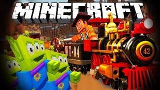 MINECRAFT TOY STORY | WOODY AND BUZZ ESCAPE FROM THE DESERT | MINECRAFT XBOX