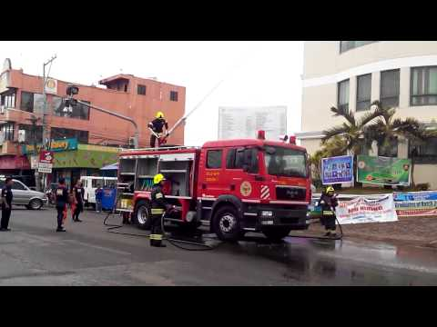 New Fire Truck of BFP Cauayan worth 17 Million Live Demo