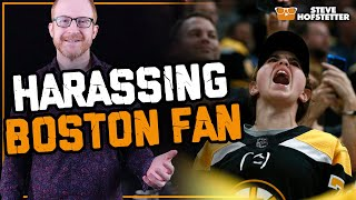 Comedian teases Boston fan - Steve Hofstetter