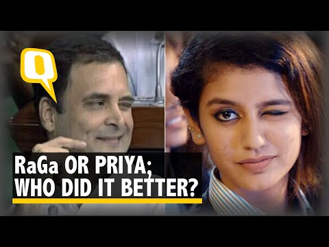 """Winking is A Sweet Gesture"" Priya Varrier on Rahul Gandhi's Wink in Lok Sabha"