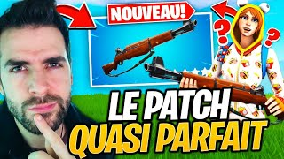 THE BEST PATCH OF FORTNITE: THE INFANTERIE FUSIL - THE NEW! Top 1 Valentine's Day Maj 7.40