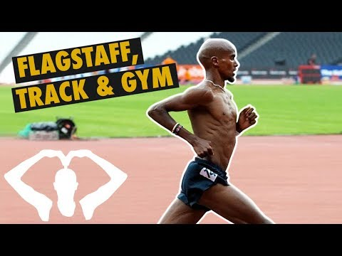 Running in Flagstaff, the Track & the Gym | Mo Farah