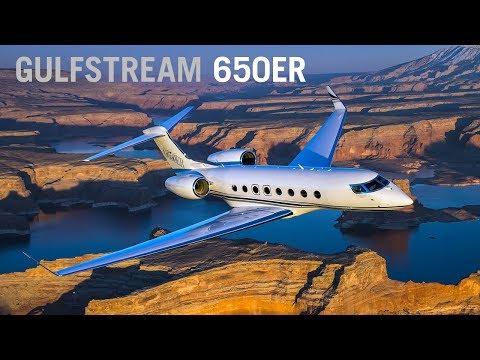 Gulfstream G650ER Business Jet Cabin Interior – AINtv