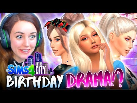 BIRTHDAY PARTY DRAMA... 😅 (The Sims 4 IN THE CITY #54!💒)