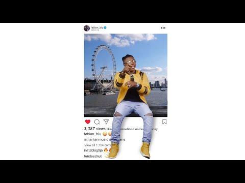 Смотреть клип Fabian Blu Ft. Naira Marley & Mohbad - Instagram