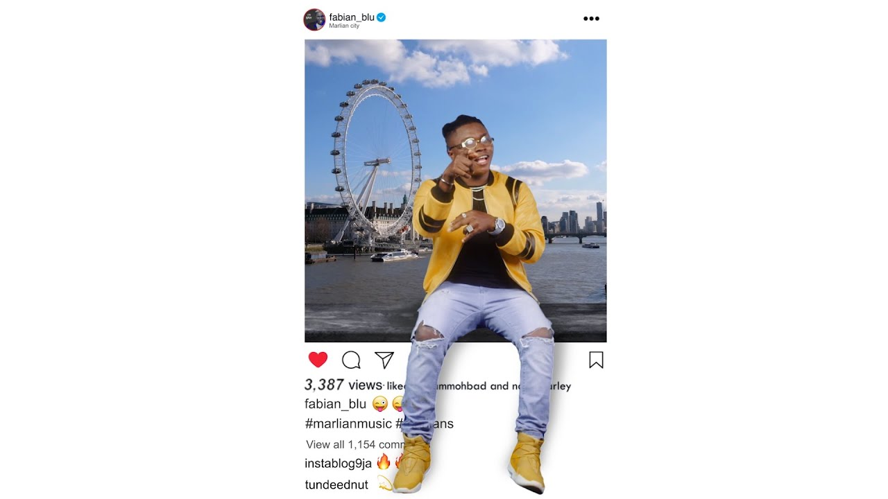Fabian Blu - Instagram Ft Naira Marley & Mohbad (Official Video)