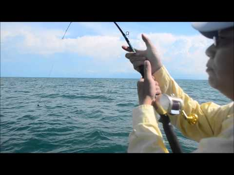Malaysia fishing (Merchong) trip with Tee King Chong 2015