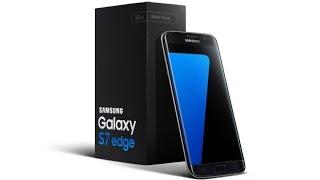"""فتح صندوق للهاتف Samsung Galaxy S7 Edge """"الفيديو بالكامل مصور من خلال الأس7 إيدج"""""""