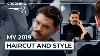 My New Haircut and Style For 2019 | Men