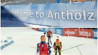 Биатлон. КМ 2016/2017. 6 этап, Антхольц. Масстарт женщины. Онлайн трансляция