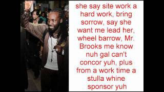 Mavado - Come Roun {RAW} LYRICS ON SCREEN (BIGSHIP RECORDS)
