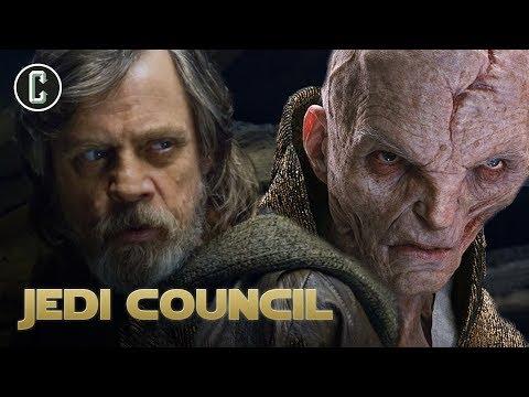 Star Wars The Last Jedi: Will Luke Fight Snoke?!