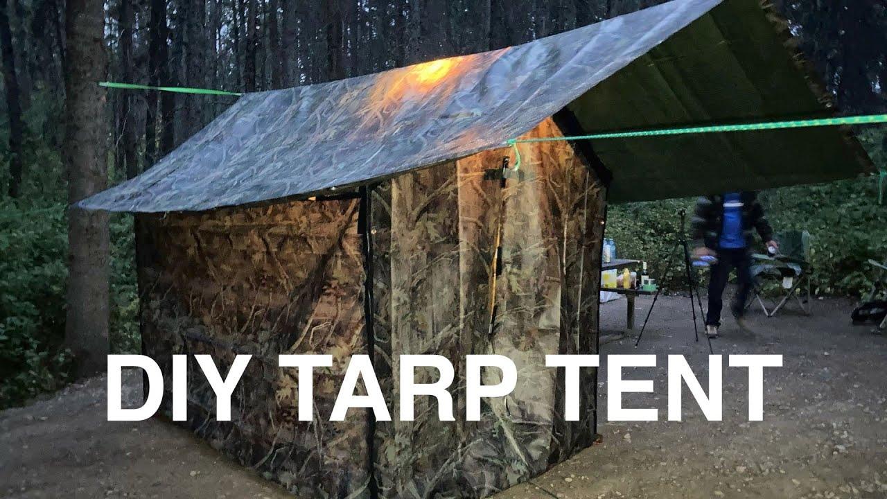 Tarp Wall Tent Camping