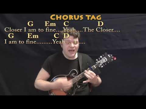 Closer To Fine Indigo Girls Mandolin Cover Lesson With Chords