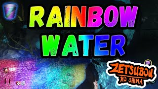 how to get rainbow water on zetsubou no shima bo3 zns all water locations on black ops 3 zombies