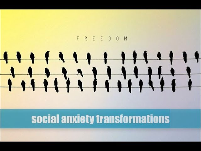 Social Anxiety Transformations (stories of shame, perfectionism, and bullying)