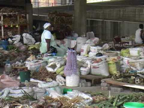 Faraday Muti Market Downtown Johannesburg South Africa - Africa Travel Channel