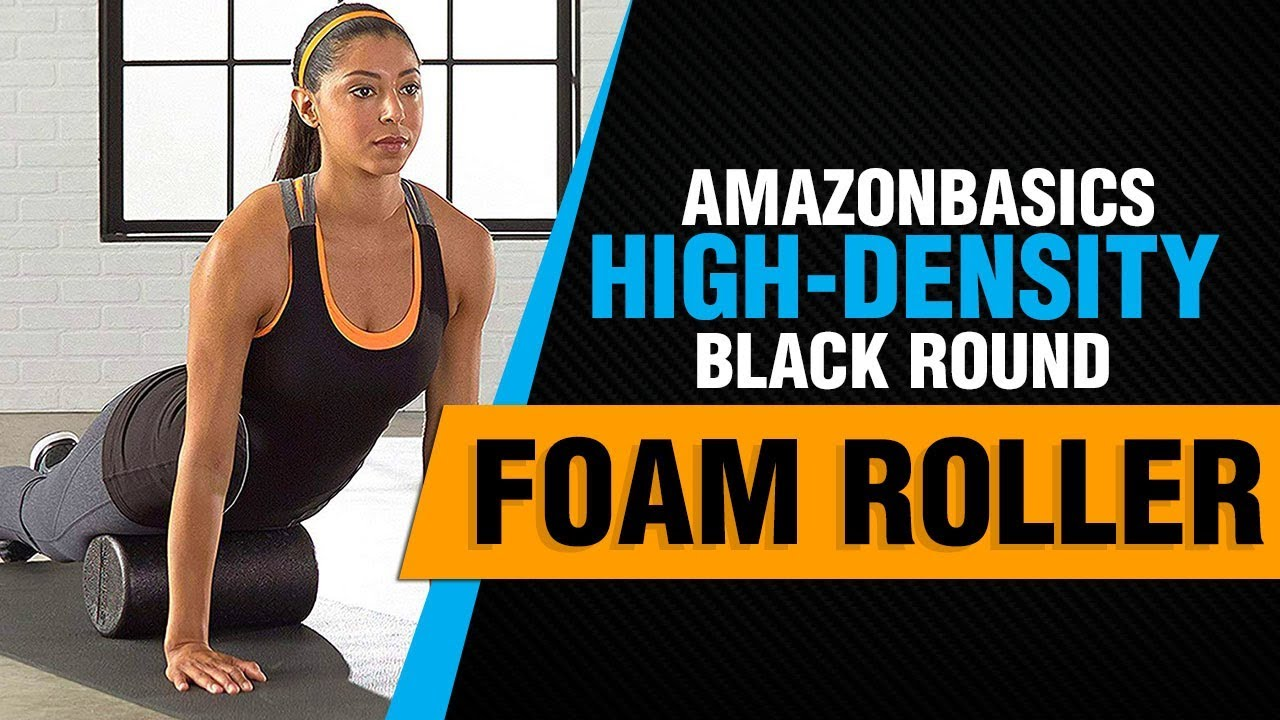 AmazonBasics High-Density Round Foam Rzor, Black and Speckled Colors Review  2018