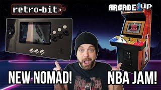 NEW Sega Nomad Coming in 2019 + NBA Jam Arcade 1UP! | RGT 85