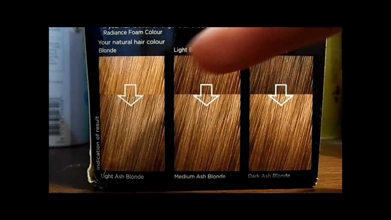 Superdrug Foam Hair Dye 81 Medium Ash Blonde First