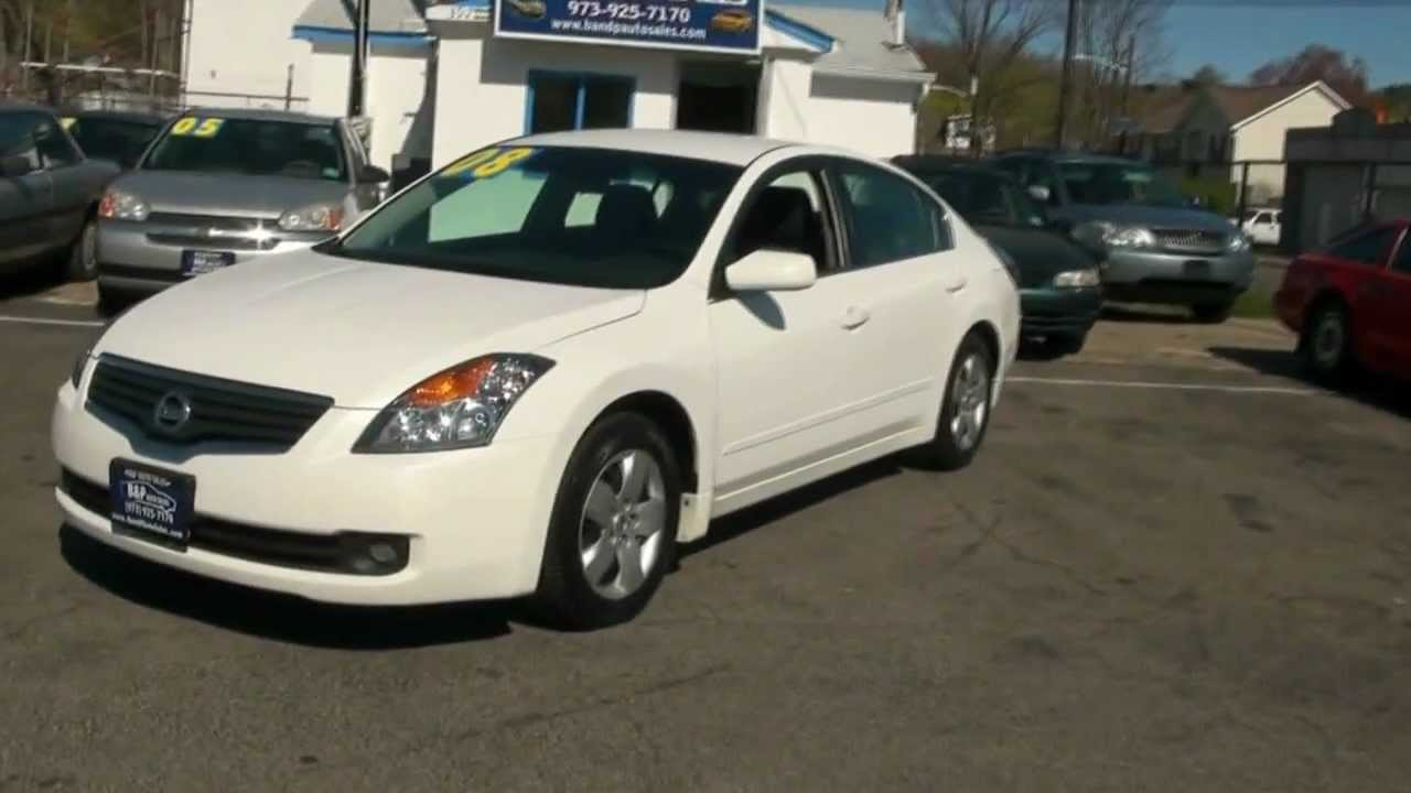 2008 Nissan Altima 2 5 S Sedan Youtube
